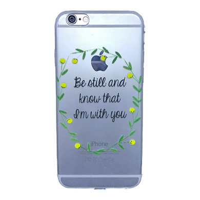 Funda para celular iPhone - Be still and know