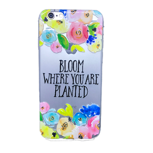 Funda para celular iPhone - Bloom where you