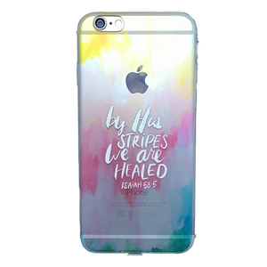 Funda para celular iPhone - By his stripes