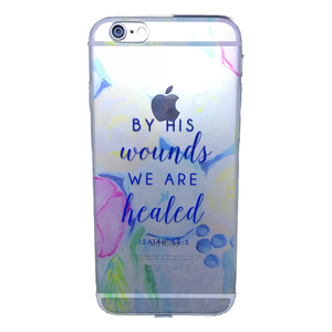 Funda para celular iPhone - By his wounds we