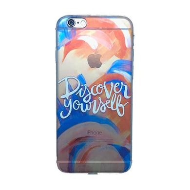 Funda para celular iPhone - Discover yourself