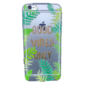 Funda para celular iPhone - Good vibes
