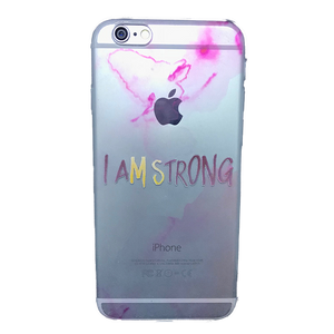 Funda para celular iPhone - I am strong