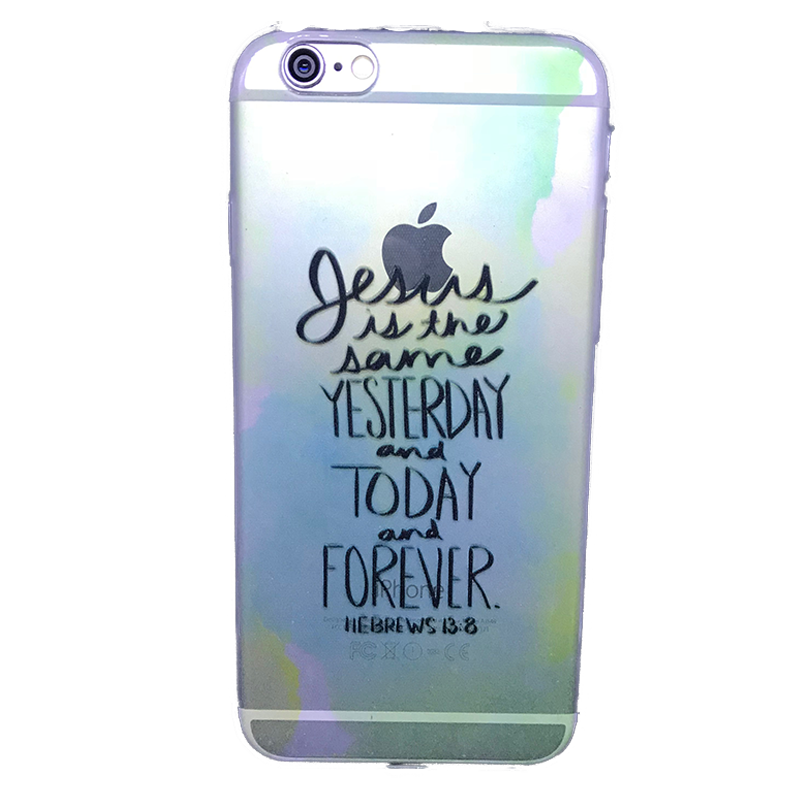 Funda para celular iPhone - Jesus is the same