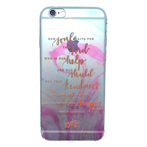 Funda para celular iPhone - Our soul waits