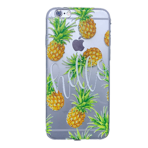 Funda para celular iPhone - Piñas hello