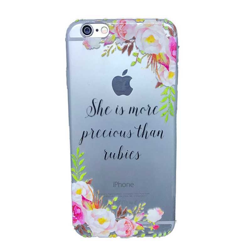 Funda para celular iPhone - She is more