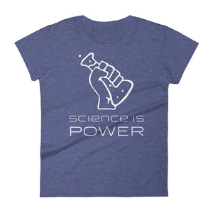Science is Power Women's Short Sleeve T-Shirt - Plump Trump