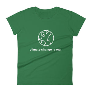 Climate Change is Real Women's T-Shirt - Plump Trump