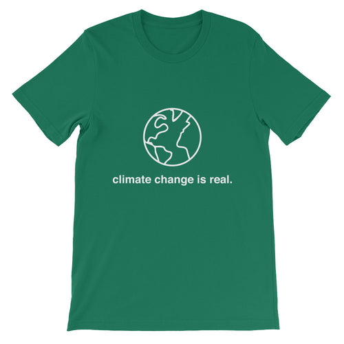 Climate Change is Real T-Shirt