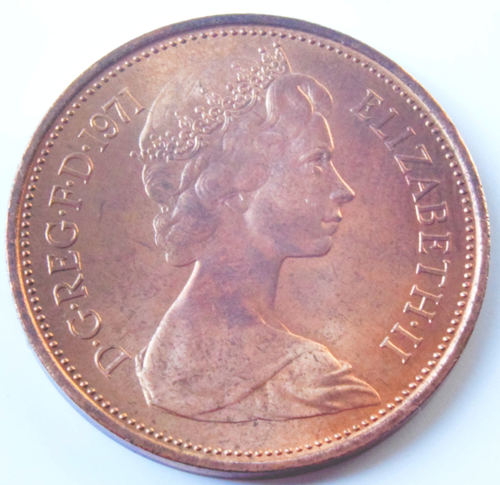 Rare 2p coins from '1971 are selling for up to £14,000 on Ebay