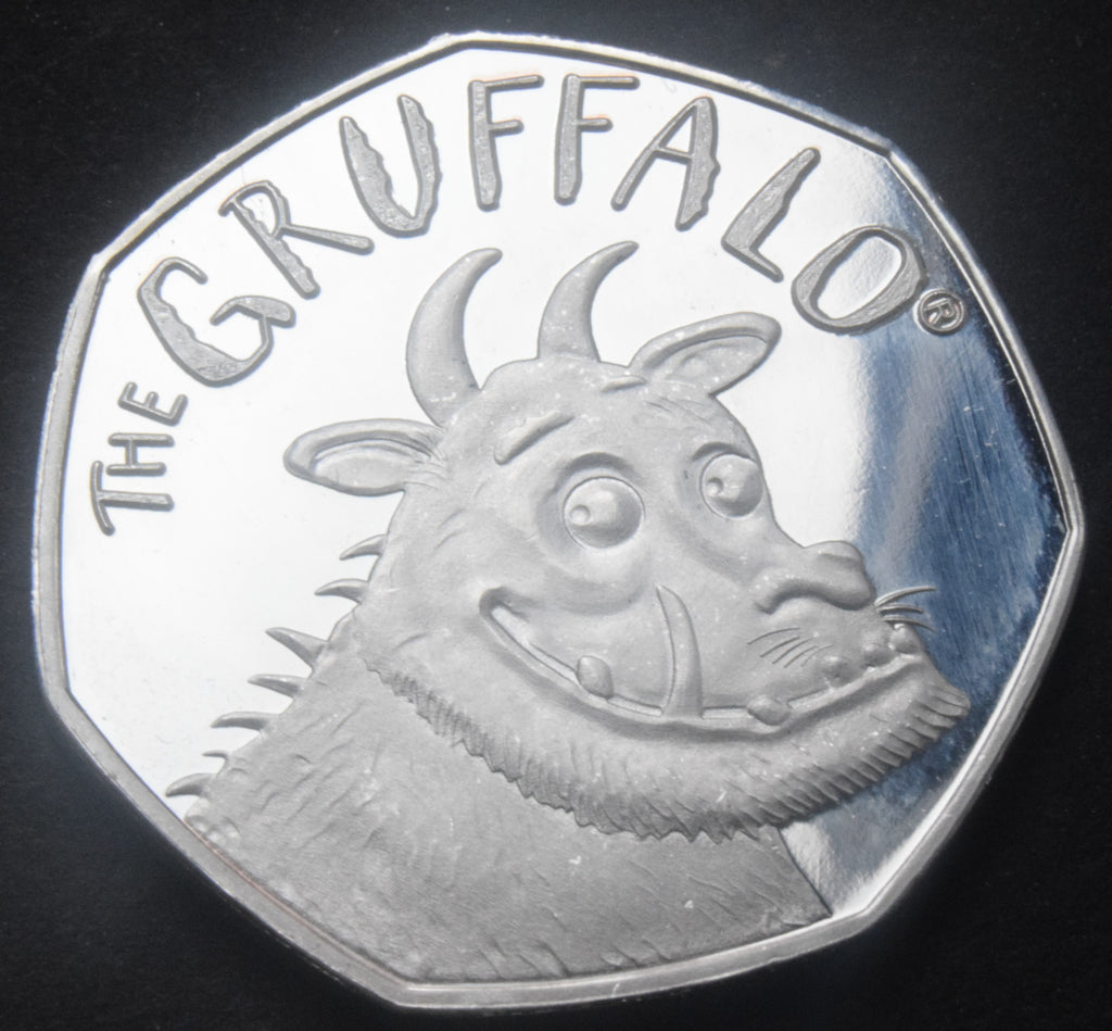 Fake Gruffalo 50p coins being sold on Ebay