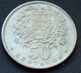 1964 Portugal 50 Centavos HIGH GRADE Coin  KM# 577