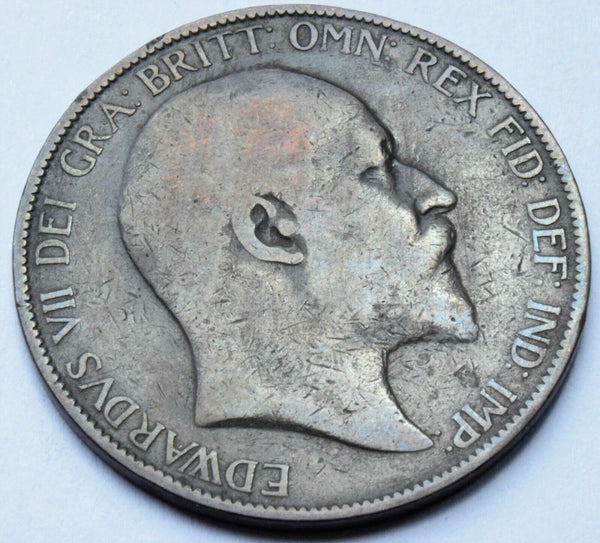 1906 King Edward VII  Penny  copper coin