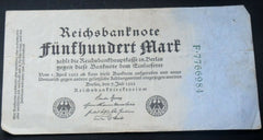 1923 Germany 50,000 Mark banknote - Confessor the shop for all Collectables Coins Badges Banknotes Medals Tokens militaria