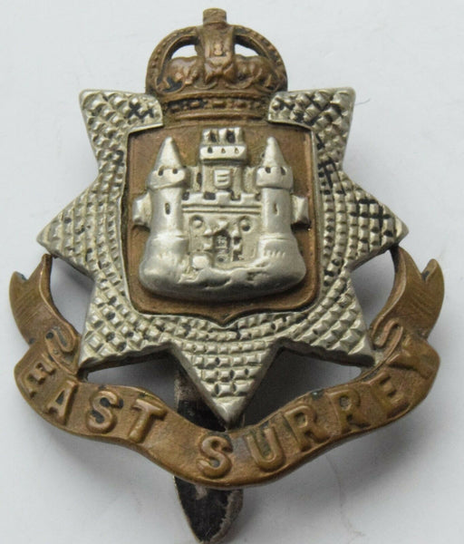 The East Surrey Regiment British Army/Military Hat/Cap Badge