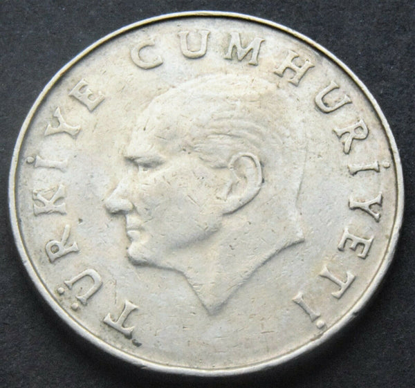 1985 Turkey 50 Lira coin