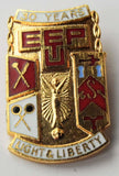 EEPU ELECTRICAL WORKERS 30 YEARS SERVICE ENAMEL BADGE TRADE UNION