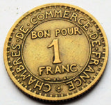 1924 France Bon Pour 1 Francs Chambres De Commerce De France industrie coin