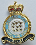 ROYAL AIR FORCE AEROBATIC TEAM ECLAT Red Arrows ENAMEL PIN BADGE