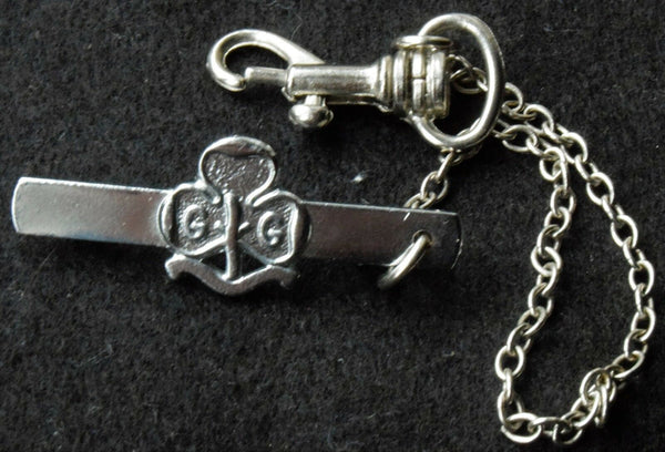 Girl Guiding Guides key-ring badge