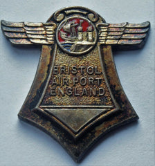 Rare 1930 Bristol Airport International Touring Competition Aircraft medal - Confessor the shop for all Collectables Coins Badges Banknotes Medals Tokens militaria