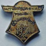 Rare 1930 Bristol Airport International Touring Competition Aircraft medal