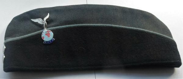 RAFA Royal Air Force Association Side Forage Cap Hat with Badge