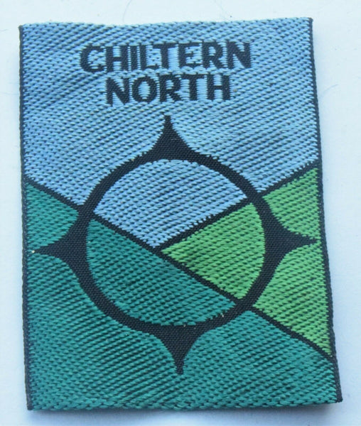 Vintage Scouting Boy Scout Chiltern North Badge  Cloth Patch.