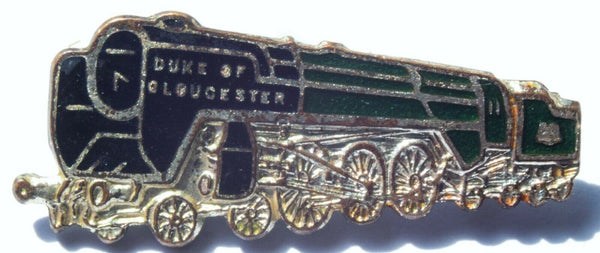 Duke of Gloucester Steam Train Railway Locomotive Pin Badge by H.W.Miller