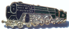 Duke of Gloucester Steam Train Railway Locomotive Pin Badge by H.W.Miller - Confessor the shop for all Collectables Coins Badges Banknotes Medals Tokens militaria