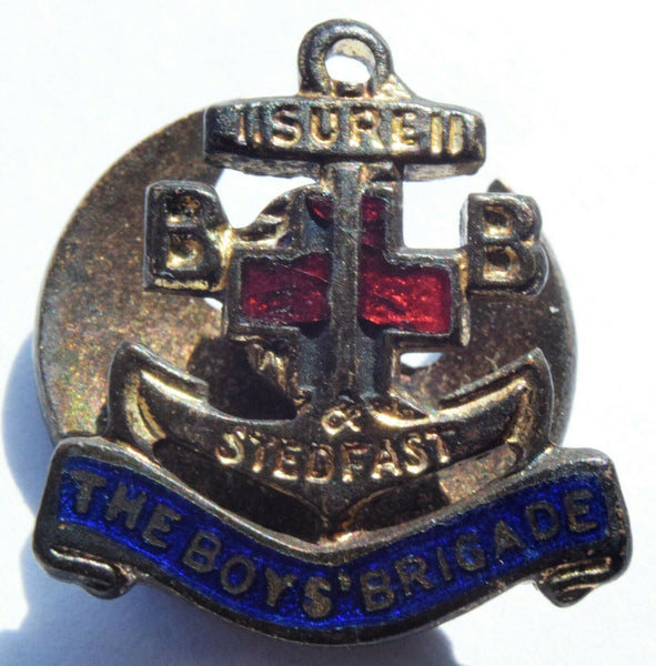 vintage boys brigade Lapel Badge