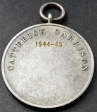 British Army Catterick Garrison Football 1944-45 Medal