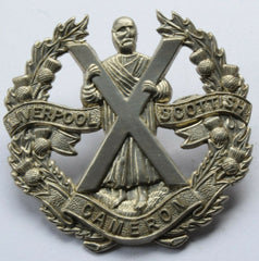 Liverpool Scottish Cameron Regiment cap badge - Confessor the shop for all Collectables Coins Badges Banknotes Medals Tokens militaria