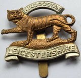 British Army Military Cap/Hat Badge - The Leicestershire Regiment
