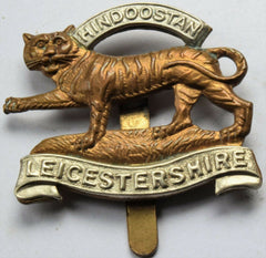 British Army Military Cap/Hat Badge - The Leicestershire Regiment - Confessor the shop for all Collectables Coins Badges Banknotes Medals Tokens militaria