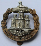 DORSETSHIRE REGIMENT - BI-METAL CAP BADGE
