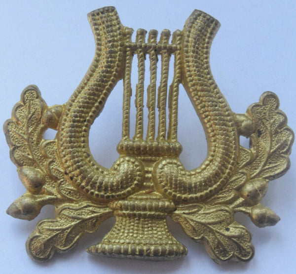 Brass Musicians Bandmaster Trade Arm Badge Music Proficiency Bandsman .