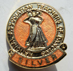 Vintage National Association Teachers of Dancing Medal / Badge 1950's - Confessor