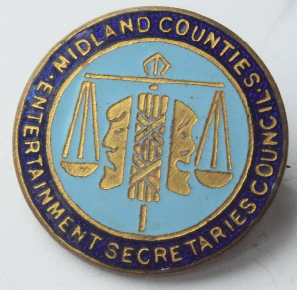 midland counties entertainment secretaries council badge