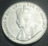 1933 CANADA KING GEORGE V  5 CENTS COIN