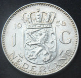 1956 Netherlands 1 Gulden Silver high grade Coin
