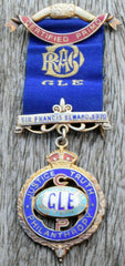 1927 RAOB boxed jewel medal Primo, silver enamel Sir Francis Seward lodge - Confessor the shop for all Collectables Coins Badges Banknotes Medals Tokens militaria