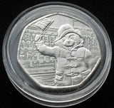 2018  Paddington Bear at Buckingham Palace 50p fifty coin