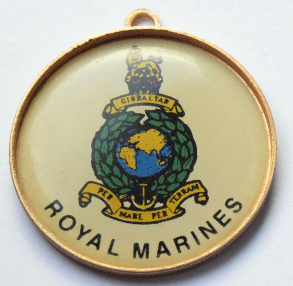 Rare Vintage Royal Marines pendant - British Military