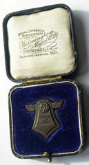 Rare 1930 Bristol Airport Bristol International Air Pageant Medal in case - Confessor the shop for all Collectables Coins Badges Banknotes Medals Tokens militaria