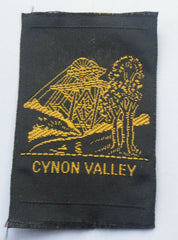 Vintage Scouting Boy Scout  CYNON VALLEY Badge  Cloth Patch. - Confessor the shop for all Collectables Coins Badges Banknotes Medals Tokens militaria