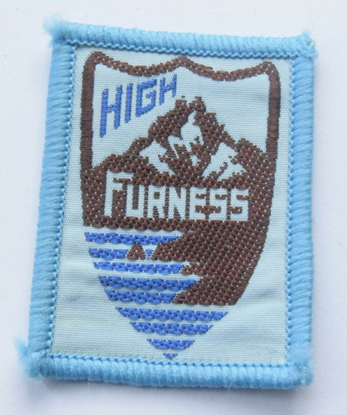 Vintage Scouting Boy Scout  HIGH FURNESS Badge  Cloth Patch.