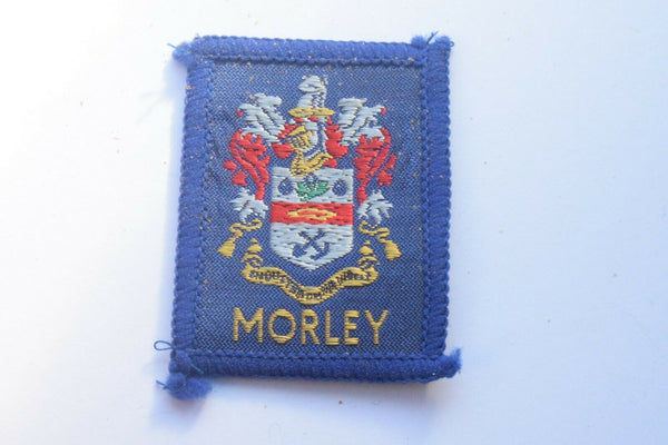 Vintage Scouting Boy Scout Morley Badge  Cloth Patch.