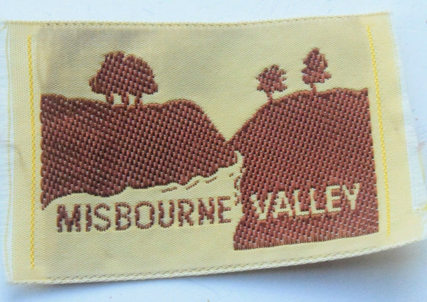 Vintage Scouting Boy Scout Misbourne Valley Badge  Cloth Patch.